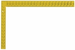 """Swanson TS154  16"""" x 24"""" Professional Steel Rafter Square Yellow"""