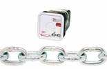 """Campbell 0143626  3/8"""" Welded Grade 30 Proof Coil Chain - 45' per Square Pail"""