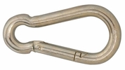 "Campbell T7645046  1/2"" Spring Snap Link - Zinc Plated Steel"