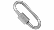 "Campbell T7645136  5/16"" Steel Quick Chain Link - 1 per Package"