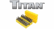 Titan Insert Bits, Bit Holders and Extensions