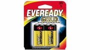 Eveready Gold A522  9V Alkaline Battery  2 per Package