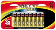 Eveready Gold A91BP-16H  AA Alkaline Battery 16 per Package