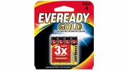 Eveready Gold A92BP-4  AAA Alkaline Battery 4 per Package