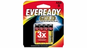 Eveready Gold A92BP-8  AAA Alkaline Battery 8 per Package