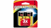 Eveready Gold A93BP-2  C Alkaline Battery  2 per Package