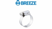 Breeze Power Seal Hose Clamps with Plated Screw