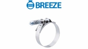 Breeze Standard Duty Spring Loaded T-Bolt Clamps