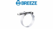 Breeze Spring Loaded T-Bolt Clamps with Square Spring