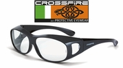 Crossfire OG3 Over the Glass Safety Glasses