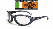 Crossfire Raptor Foam Lined Reader Safety Glasses
