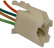 Pico 5309A  1978-1982 GM Front Radio Speaker Four Lead Wiring Pigtail - White 25 per Package