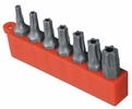 "Enkay 3047-C  7-Piece 1"""" Tamper Proof Torx Screw Bit Set  T10 to T40"