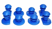 Barwalt 20993  Replacement Buttons for Ultralight Knee Pads (KN-1 and KN-3) - Set of 8 Buttons