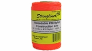 Stringliner 35406  540' Twisted Nylon Construction Line Fluorescent Orange 1/2-lb. Replacement Roll