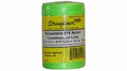 Stringliner 35415  540' Twisted Nylon Construction Line Fluorescent Green 1/2-lb. Replacement Roll