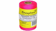 Stringliner 35462  500' Braided Nylon Construction Line Fluorescent Pink 1/2-lb. Replacement Roll