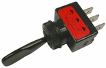 """Pico 5542A  12 Volt 16 Amp On-Off-On Toggle Switch 1"""" Black Handle SPDT 25 Per Package"""