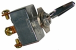 """Pico 5543PT  6-12 Volt 50 Amp Heavy Duty On-Off-On Toggle Switch 1"""" Chrome Handle SPDT 1 Per Package"""