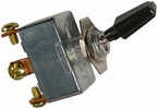 """Pico 5573PT  6-12 Volt 50 Amp Heavy Duty On-Off Toggle Switch 1"""" Black Handle SPST"""