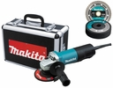 "Makita 9557PBX1  4-1/2"" Angle Grinder with Paddle Switch - 7.5 Amp - Includes Case and Grinding Wheel"