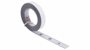 """Rousseau 0012R  1/2"""" x 12' Self-Adhesive Backed Steal Tape Measure - Reads Left to Right"""
