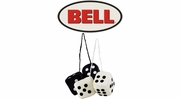 Bell Automotive Fuzzy Mirror Hangers (Dice)