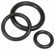 "Pico 10007A  5/32"" x 9/32"" x 1/16"" Rubber O'Ring 1000 Per Package"