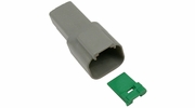 Pico 5990A  2-Way Deutsch / Wedgelock Connector Female Housing and Wedge Set 100 Sets per Package