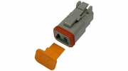 Pico 5991A  2-Way Deutsch / Wedgelock Connector Male Housing and Wedge Set 100 Sets per Package
