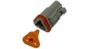 Pico 5993A  3-Way Deutsch / Wedgelock Connector Male Housing and Wedge Set 100 Sets per Package