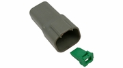 Pico 5994A  4-Way Deutsch / Wedgelock Connector Female Housing and Wedge Set 100 Sets per Package