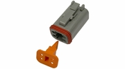 Pico 5995A  4-Way Deutsch / Wedgelock Connector Male Housing and Wedge Set 100 Sets per Package