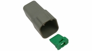 Pico 5996A  6-Way Deutsch / Wedgelock Connector Female Housing and Wedge Set 100 Sets per Package