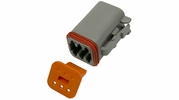 Pico 5997A  6-Way Deutsch / Wedgelock Connector Male Housing and Wedge Set 100 Sets per Package