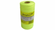 Stringliner 35765  1000' Braided Nylon Construction Line Fluorescent Yellow 1-lb. Replacement Roll