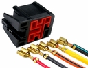 Pico 5765PT  Ford Horn and Blower Relay Harness Repair Kits Five Lead Wiring Pigtail 1 Set Per Package