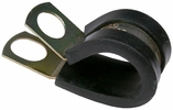 """Pico 7524A  1-1/2"""" ID Rubber Insulated Clamps 5/8"""" Zinc Plated Steel with 3/8"""" Mounting Hole 100 per Package"""
