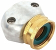 "Gilmour 01FZ  5/8"" to 3/4"" Hose Repair Female Connector / Coupler End - Zinc and Brass"