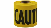 """Empire Level 77-0201  200' x 3"""" Barricade """"Caution"""" Tape - Yellow Commercial Grade"""