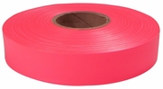 """Empire Level 77-063  600' x 1"""" Roll Flagging Tape Glo-Pink"""