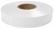 "Empire Level 77-066  600' x 1"" Roll Flagging Tape White"