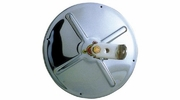 """Open Road 10711  7-1/2"""" Stainless Steel Heated Convex Mirror Center Mount (20SH)"""
