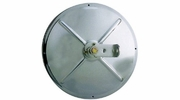 """Open Road 10811  8-1/2"""" Stainless Steel Heated Convex Mirror Center Mount (19SH)"""