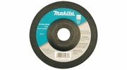 "Makita 741405-2-1  4"" x 3/16"" with 5/8"" Arbor Depressed Center 36 Grit Grinding Wheel - Single Wheel"
