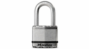 "Master Lock M5XDLFHC  Magnum 2"" Wide Laminated Padlock with Tough-Cut Octagonal Shackle 1-1/2"" Height"