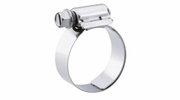 "10 Pack Breeze 9206  Aero-Seal Liner Clamps with Plated Screw Effective Diameter Range: 7/16"" - 25/32"" (11mm - 20mm)"