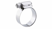 "10 Pack Breeze 9216  Aero-Seal Liner Clamps with Plated Screw Effective Diameter Range: 13/16"" - 1-1/2"" (21mm - 38mm)"
