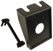 """Pico 5501PT  1-3/8"""" x 1-5/8"""" Toggle Switch Mounting Panel 1/2"""" Holel Black Modular Style 1 Per Package"""