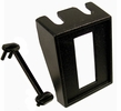 """Pico 5502A  1-3/8"""" x 1-5/8"""" Rocker Switch Mounting Panel 1/2"""" x 1-3/16"""" Hole Black Modular Style 25 Per Package"""